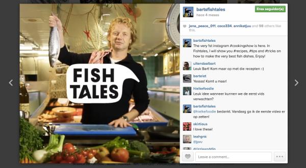 El programa de cocina más corto del mundo en Instagram