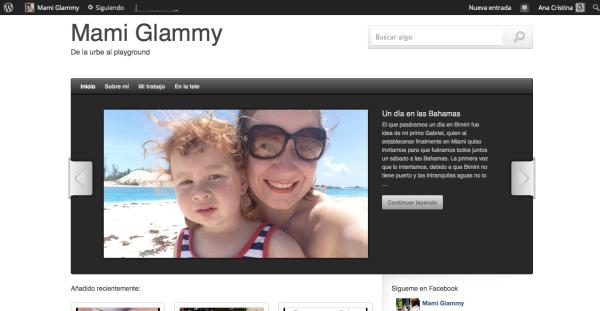Página de inicio de Mami Glammy